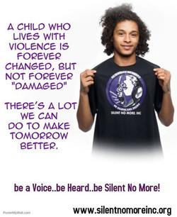 Be A Voice! #SilentNoMore #beaVoice #beHeard #beSilentNoMore Www.silentnomoreinc