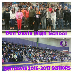 SNM equipping our Indianapolis Ben Davis HS 2016-2017 seniors on Domestic Violence in the Home! #Ind