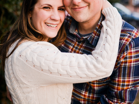 lauren and rob's engagement session // reston, virginia
