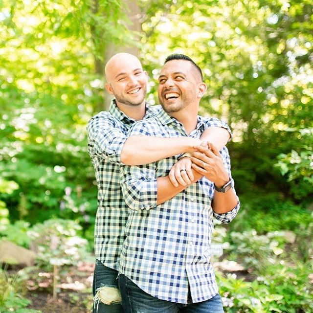 Steven and Josh's engagement session at