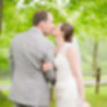east liverpool ohio bride and groom kissing