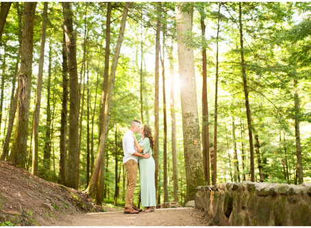 Kellsie & Preston // Engagement Session in Hocking Hills State Park & Athens, Ohio