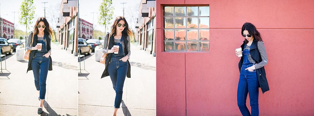 stylish lifestyle session photos in ohio city