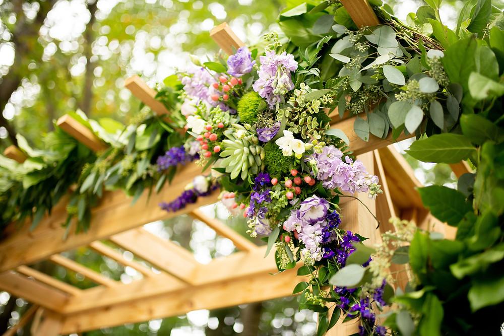 cleveland ohio wedding with succulents