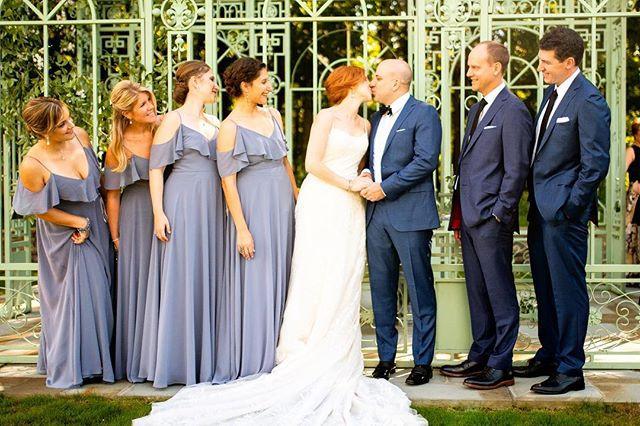 Lauren and Nick's wedding yesterday was