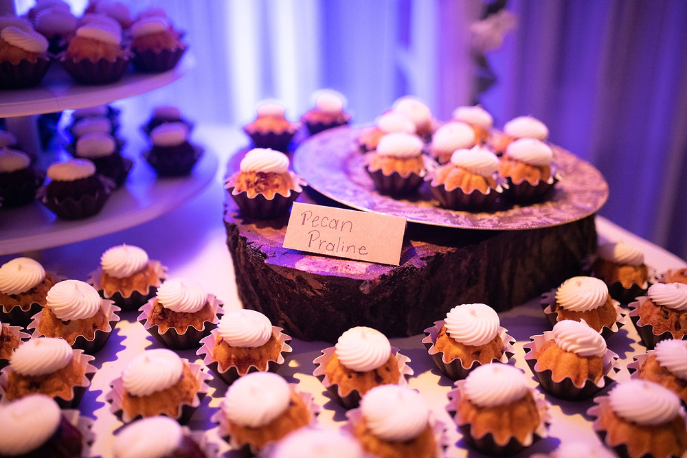 desserts for winter wedding at michauds in strongsville ohio