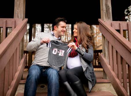 Abbey & Ray's Parents-To-Be Session // Canton, Ohio