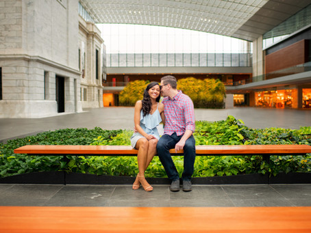 Claire & Matt // Cleveland Museum of Art