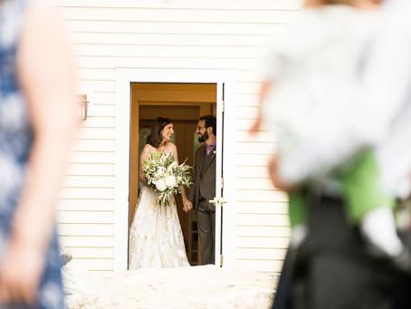 Becky + Marcus // Wedding in The Berkshires