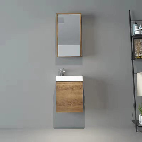 400mm Wall Hung Bathroom Vanity with Resin Basin