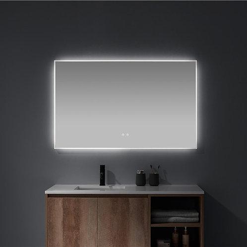 Matt Framed LED Mirror   Demister   1200*750