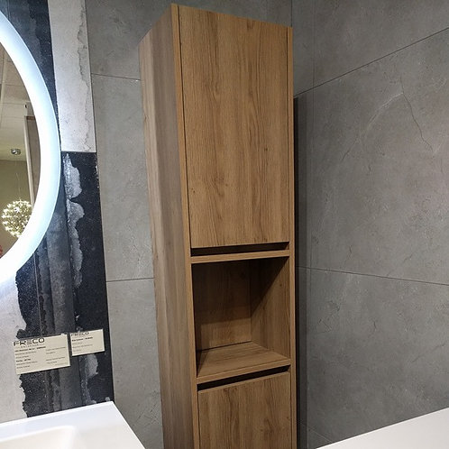 1600mm Bathroom Wall Hung Side Tower Cabinet