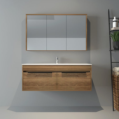 Last Display - 1200mm Wall Hung Bathroom Single Vanity