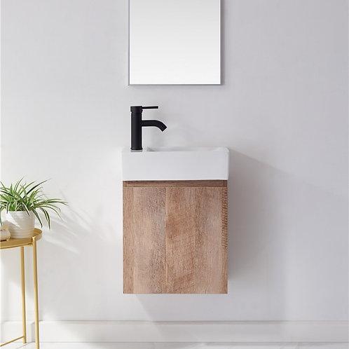 450 bathroom wall plywood vanity ceramic basin black basin mixer