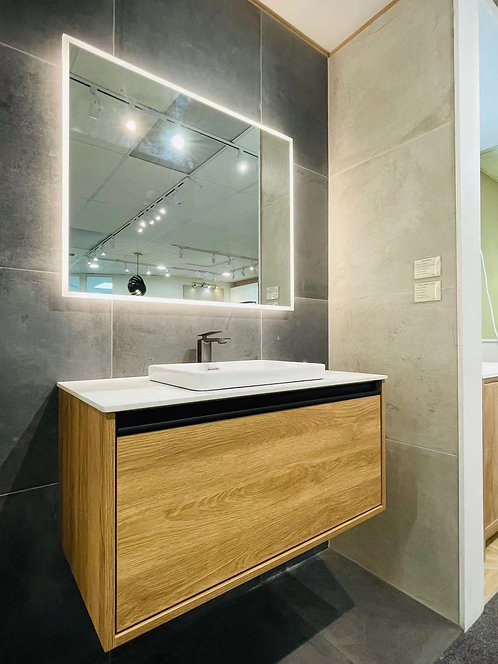 900mm Ariel Wall Hung Vanity