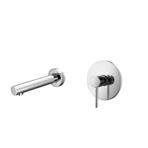 Chrome Wall Basin Mixer/ Bath spout