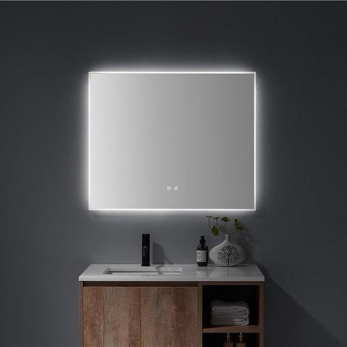 Matt Framed LED Mirror | Demister | 900*750
