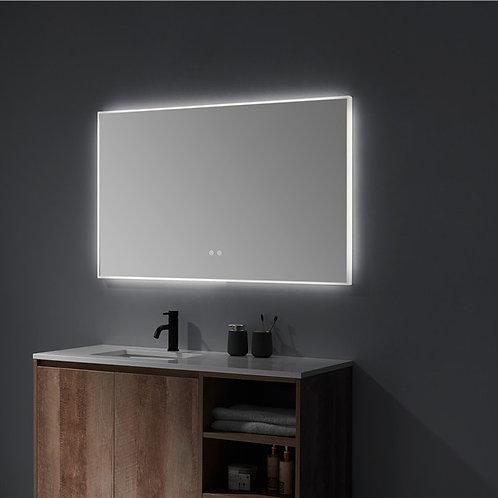 Matt Framed LED Mirror | Demister | 1400*750