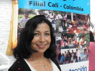 Biografia de la presidente y miembro de la fundación Inocencia en Peligro IEP - Colombia