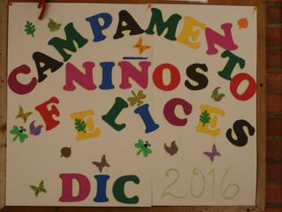 CAMPAMENTO NIÑOS FELICES PARA PRE-ADOLESCENTES 2016