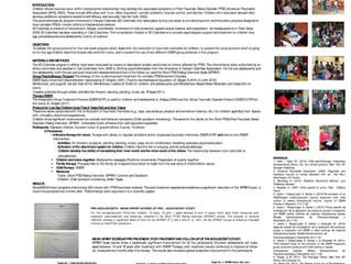 PROGRAMA DE PSICOTERAPIA DE GRUPO PARA NIÑOS Y ADOLESCENTES CON ESTRÉS POST-TRAUMÁTICO en la 19ª Con