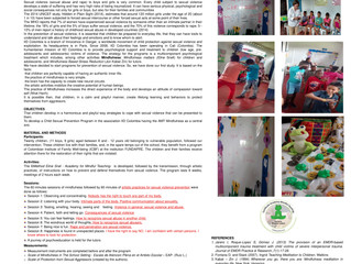 PREVENCIÓN DE LA VIOLENCIA SEXUAL INFANTIL BASADA EN MINDFULNESS, en el 5º Encuentro Internacional s