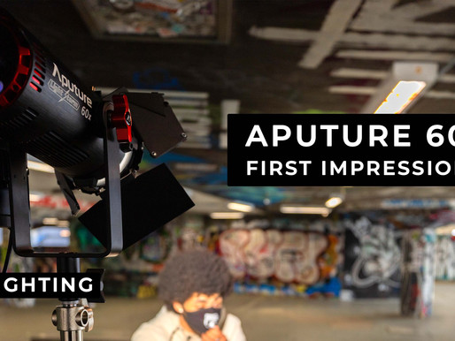 Aputure 60x First Impressions with JV8 Lighting