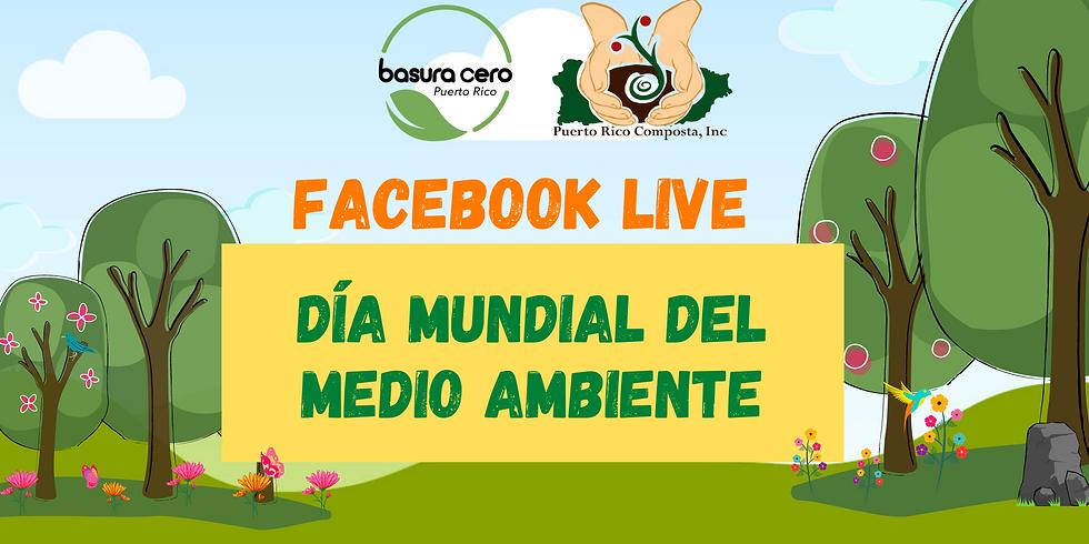 Facebook Live: Día Mundial del Medio Ambiente