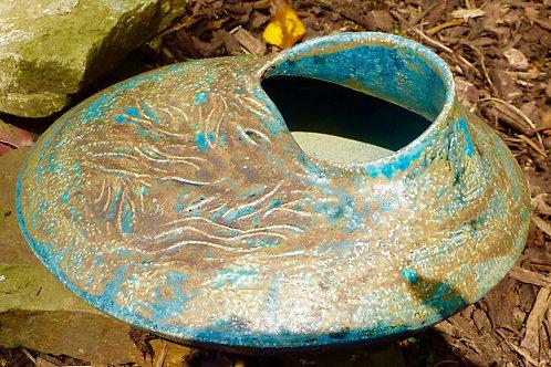 Bronze seed pod