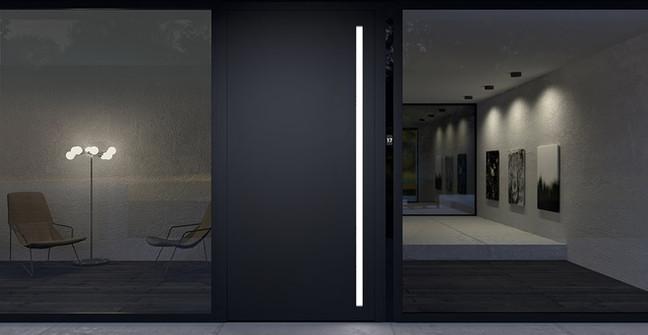 ADS Schueco entrance door