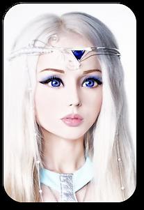valeria lukyanova human big blue eyes doll vk living doll barbie doll tiny waist ltress ltresses valeriahumandoll