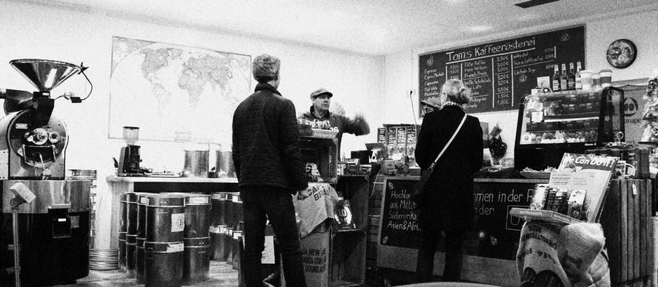 Kaffeerösterei in Berlin