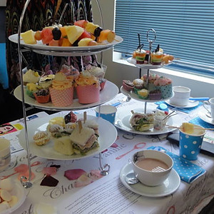 Delicious Delicacies and Dancing - A High Tea w/- a Difference