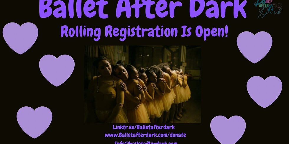 Ballet After Dark Program Registration