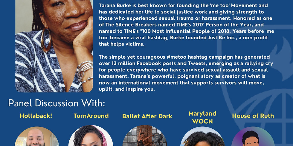 Q&A Panel Discussion with #MeToo Founder Tarana Burke