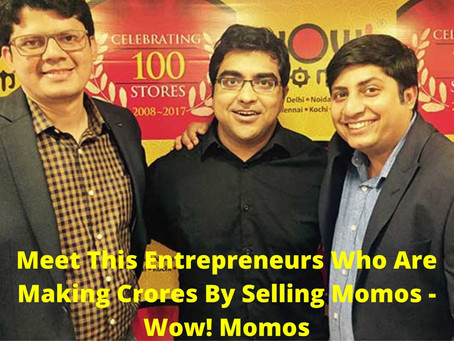 Wow Momos! | Startup With No Capital | Startup Story | Know What They Do ? | Checkout Here Interview