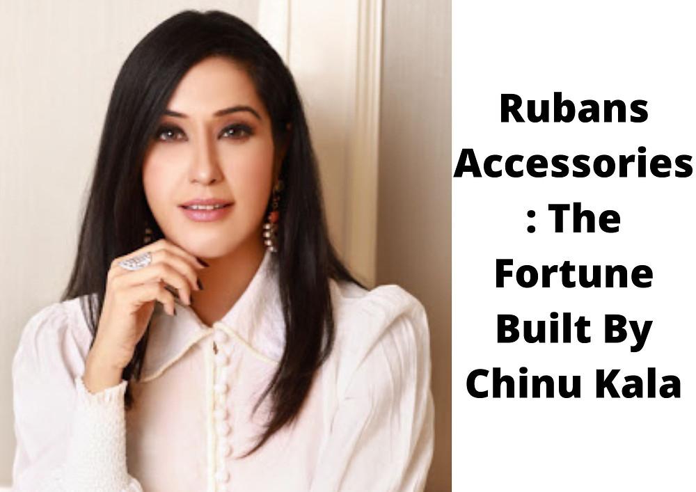 Rubans Accessories | Rubans Accessories Startup | Rubans Accessories Startup Story | Chinu Kala | Chinu Kala Startup | Chinu Kala Startup Story | Rubans Jewellery