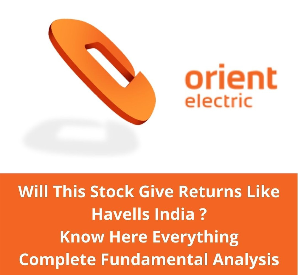 Orient Electric   Complete Fundamental Analysis   Stock Analysis   OEL Stock