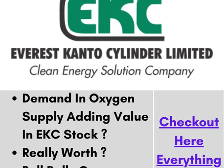 EKC Stock Complete Analysis | Oxygen Demand Adding Value ? | Bull Rally Over / Start ? | Check Here