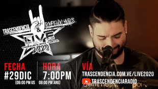 "We are playing ""Venezuela Rock & Metal Live 2020"""