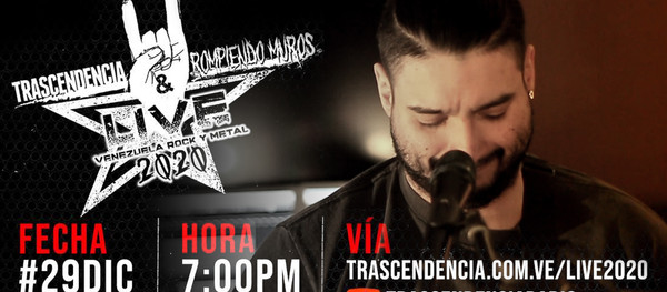 "We are playing ""Venezuela Rock & Metal Live 2020"""