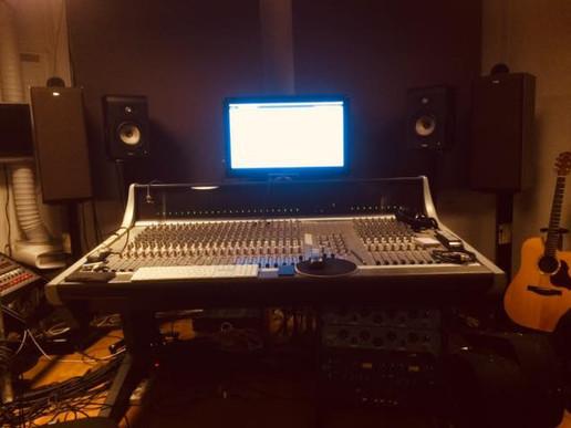 Last year at the studio