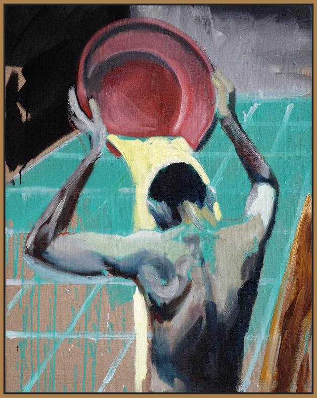 BADEHAUS | 2020 | oil/linen | 95 x 75 cm