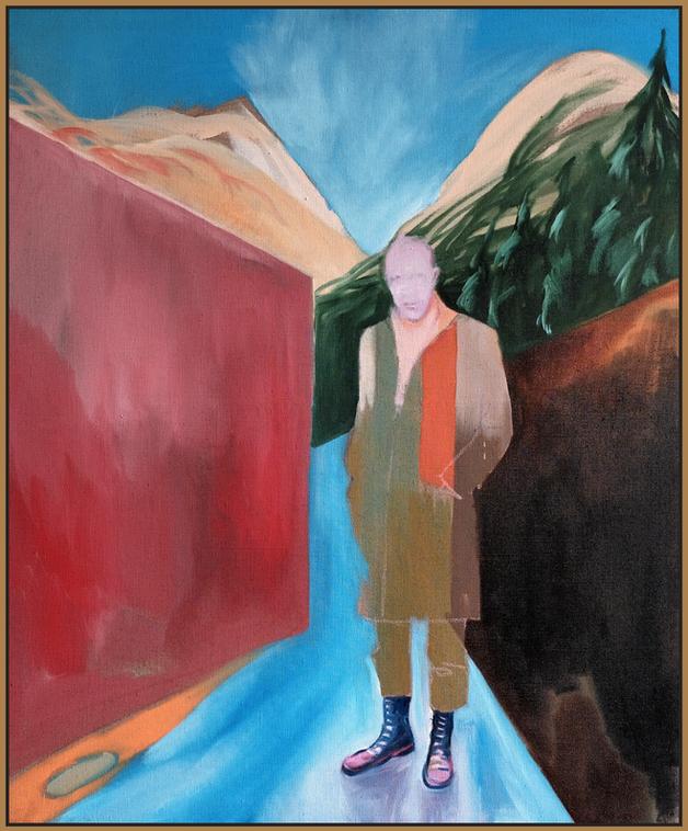 OBERSTDORF | 2019 | oil/linen | 150 x 125 cm