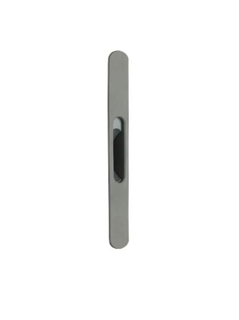 Poignée Coquille et Bloc Serrure 18cm TECHNAL