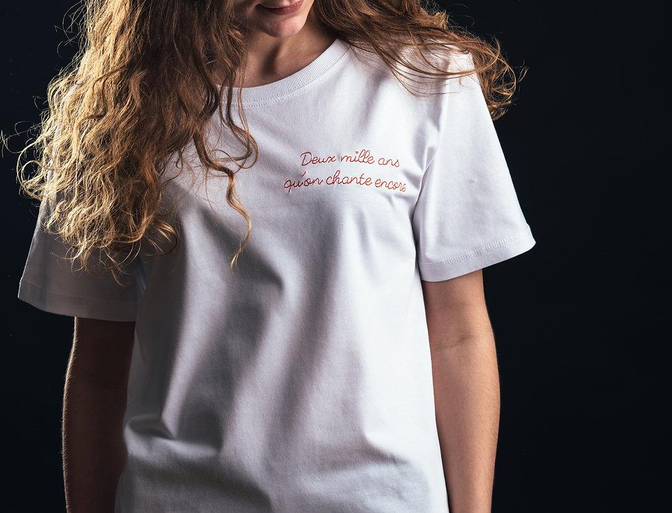 """T-shirt Lyon - """"2000 ans qu'on chante encore"""""""