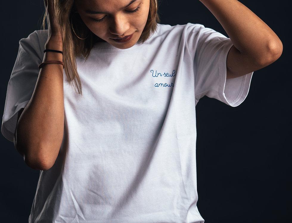 "T-shirt Strasbourg - ""Un seul amour"""
