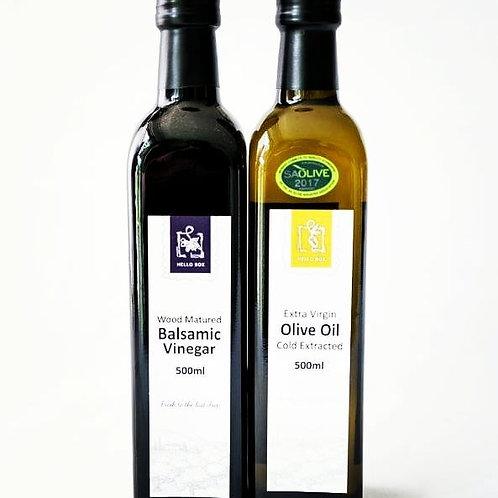 Olive Oil & Balsamic Vinegar Set