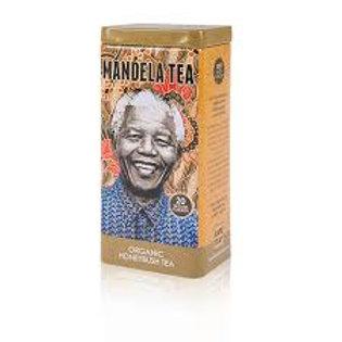 Mandela Tea Commemorative Tea Tin, Organic Honeybush Tea