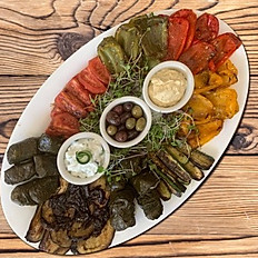 Greek Mediterranean Platter